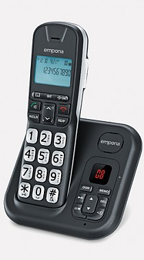 emporia big button phone with answer machine