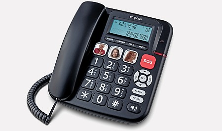 KFT 19 emporia Big-button phone