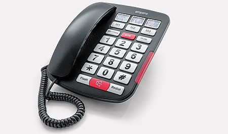 AMPLi40 - Simple big-button amplified phone.